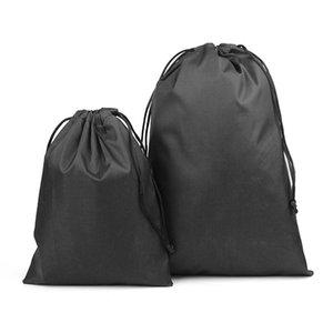 Полиэстер Ткань Drawstring Карманной Малая кулиски Закрыть Карманное Пятно Jewelry батареи питание нейлон сумка для хранения XD23660