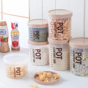 Sealed Snack multi-grano Serbatoio multifunzione Dry Goods bagagli vaso Cucina Organizzazione scatola di plastica