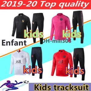 Neue Kinder psg Trainingsanzug 2018-2019 psg jordan Fußball Joggingjacke MBAPPE NEYMAR JR POGBA 18/19 Paris Kind Fußball Trainingsanzug