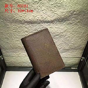 Роскошная PASSPORT КРЫШКА Brown Mono грам Холст Кожа Белый Черный Клетчатый Eip кожи Бесплатная доставка Бумажники Держатели