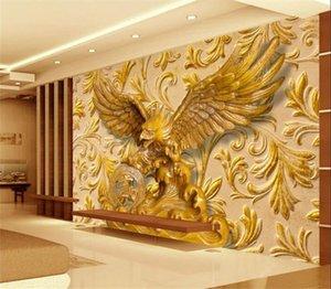 Murales murales Fond d'écran 3D Papier mural TV Papier mural moderne pour salon Papel de paréde Papier peint pour murs 3 D
