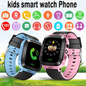 Kids Fashion Children Watches Q528 Smart Watch Locator Posizione dello schermo Dispositivo Tracker SOS per bambini Bambini Bayan Kol Saati
