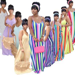 Kadınlar Seksi BODYCON Elbise Braces Etek Çizgili Uzun Elbise Mektupları İnce Skinny Etek Yaz Partisi Elbise Kulübü D52208CZ