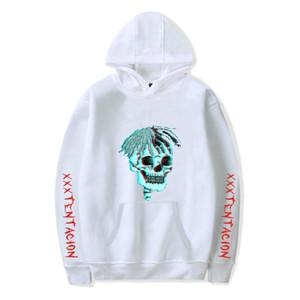 XXXTentacion Mit Kapuze Hoodies Mens Sweatshirts Vereinigte Staaten Beliebte Rap Singer Sweatshirts Männer Große Hip Hop Sänger Kleidung Schädel Hoodies