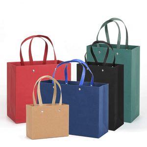 bolsa de papel de embalaje de regalo de compras al por mayor de la fábrica de la cuerda de la manija de lujo, el logotipo personalizado impreso Paperbag con el bolso de ropa Mango ba del móvil