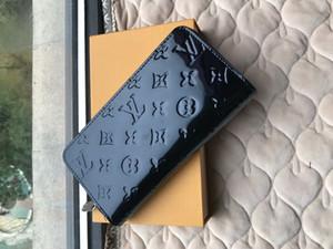 PU de la tarjeta cruzada de cartera para hombre de alta calidad de la moda de cuero carteras billetera hombres de las mujeres de las carpetas del bolso del bolsillo monederos de estilo europeo 028 9JOZ