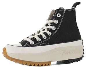 Sneakers da donna JW Anderson Platform per donna Commes des Garcons Play Chuck Hike 1970S Sneaker in tela Donna Platform Stivaletti da donna