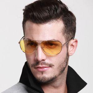 Men'S Driving Glasses Night Vision Goggles Outdoor Women Polarized Eyeglasses Yellow Lens UV400 Sunglasses
