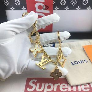 2020 del progettista Pelle Marca Handmade Famoso delle donne del sacchetto di Keychain accessori del pendente fascino con box