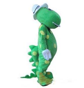 Alta qualità Dorothy il costume della mascotte del dinosauro termini testa materiale Spedizione gratuita