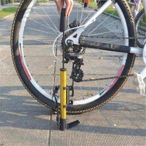 Portátil insuflação Bicycle Tire Bomba liga de alumínio Mini Mountain Cycling Tire Parts Air Inflator Estrada da bicicleta Bomba T5O1