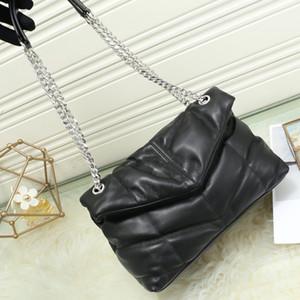 forma de V Classic acolchados de piel de cordero bolsos del monedero del sobre mujeres bolsa de la cadena crossbody señoras solo bolso de hombro bolsas de mensajero totes