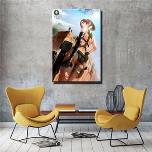 Metal Gear Solid Quiet Fan Art,HD Canvas Printing New Home Decoration Art Painting Unframed Framed
