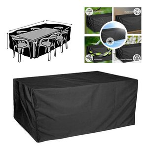 5 Sizes Waterproof Outdoor Patio Garden Furniture Covers Rain Snow Chair Covers Sofa Table Chair Dust Proof Cover