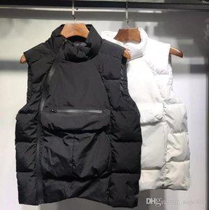 Luxury mens designer vest fashion trend brand co branded couple hip hop street zipper pocket winter warm vest