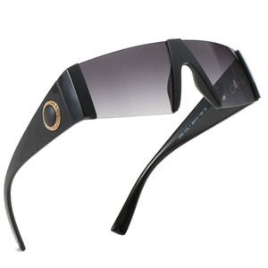 Lunettes de soleil monoblocs pour hommes haut de gamme Lunettes de soleil monoblocs haute définition marque de designer de mode marine lunettes de soleil mode UV400 cadeau