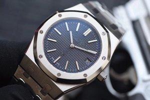 Высокое качество роскошные мужские часы XF 39mm версия Royal Oak 15202 15400 джамбо экстра-тонкий 8.5mm Япония Miyota 9015 Cal.2121 автоматическое движение