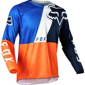 2020 venta caliente FOX descenso de manga larga Jersey que compite con la camiseta deportes al aire libre fuera de la carretera de los hombres de manga larga