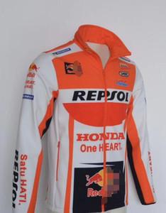 2020 новый Honda мотоцикл толстовка куртка зима внедорожный велоспорт костюм куртка гоночный костюм толстый ветрозащитный дорожные гонки велоспорт свитер ветер
