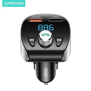 Car Charger Bluetooth FM Transmitter Audio Adapter Receiver Wireless Handsfree Car Kit with Display QC3.0 Car Chager AUX TF Card Mp3 Play
