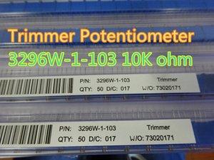 10pcs / lot 트림 냄비 트리머 전위차계 3296W-1-103 3296W 103 10K 옴