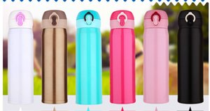 500ML Thermos Tea Mug With Strainer Vacuum Flask With Filter Stainless Steel Thermal Cup Coffee Mug Water Bottle Office