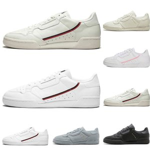 Hot Calabasas Powerphase Grey Continental 80 Chaussures de loisirs rose bleu Core noir OG blanc femmes mens TrainTrainer Sports Sneakers 36-45