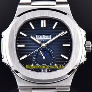PF-3.0-Version Nautilus 5726 1A-014 Cal.324 S QA LU 24 H Automatik Herren-Uhr-Jahreskalender Mondphase 24h Display-Dial Designer Uhren