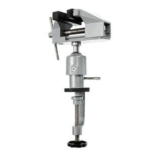 Mini multifonction 2 en 1 Table Vise Etau en alliage d'aluminium 360 degrés de rotation Universal Clamp Unités Vise