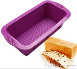 All'ingrosso della fabbrica 25 * 12 * 7.5 CM stampo in silicone per torta pane tostato pane a forma di quadrato stampo torta di cottura maker fai da te toast utensili da cucina bakeware