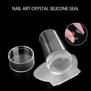 Professional Transparent Nail Stamper Scraper Nail Art Stamping Template Image Plates Stamp Plate Art Stamping Tool *