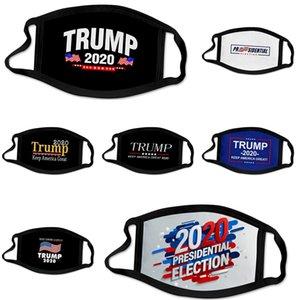 Мода Luxury маска для лица Письмо печати Маска дышащий Женщины Маски Unisex Многоразовый моющийся Велоспорт Открытый конструктор Trump Face Mask # 570