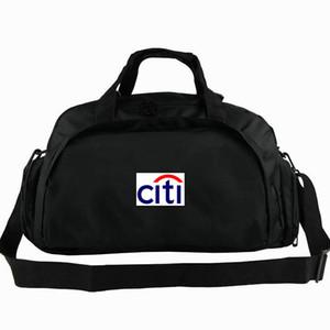 Saco de lona do Citibank new york tote mochila da cidade bagagem do banco exercício esporte ombro duffle sling pack ao ar livre