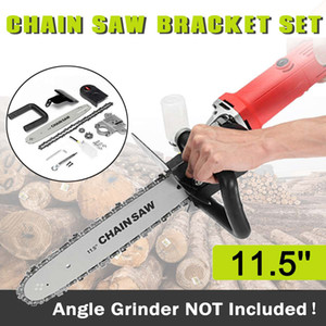 Upgrade Electric Saw Parts 11.5 Inch M10 M14 M16 Chainsaw Bracket Changed 100 125 150 Angle Grinder Into Chain Saw