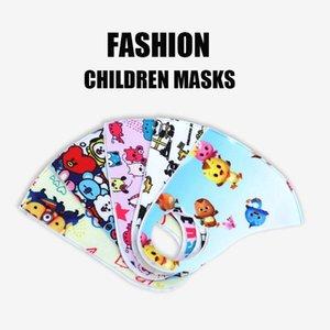 Fast ship ! Fashion Cartoon Washable Children Mask Kids Face Mask Girls Dust Masks PM2.5 Outdoor Environment Mouth Masks Facial Respirator