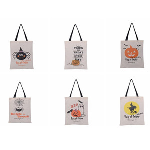 Halloween-Taschen-Trick oder Treat Kürbis Tasche handnbag Beuter Totes Halloween Dekoration Party Supplies ZZA1152