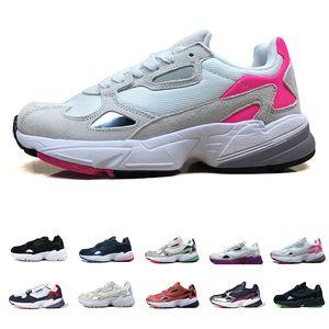 2020 Falcon W Women Men Running Shoes Jogging Fuchsia Black Light Granite Grey Pink Runner Casual Dad Sports Sneaker
