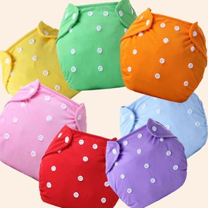 Hot Sale 15pcs lot One Size 7 Colors For Choose Reusable Washable Baby Cloth Nappies Nappy Diapers 5 Diaper+10 Inserts b1trx0022