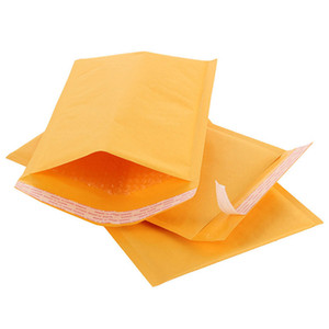 Free shiping Wholesale 50pcs lot Manufacturer Kraft Bubble Bags Mailers Padded Envelopes Paper Mailing Bags 11X13cm