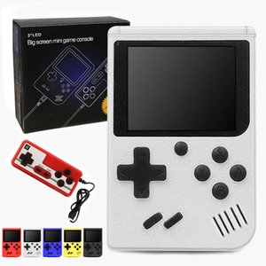 2 Players Portable Handheld Game Players 400 Games Retro Game Console 8-Bit 3.0 Inch Support AV Output with Retail Box