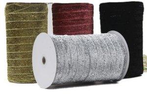 Free Express Ribbon Geschenk Spot alle Arten von Farbe Zwiebel Gürtel 2cm Bekleidungszubehör Zwiebel Gürtel 100 Meter eine Rolle Zwiebel Samtgürtel