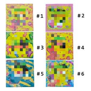 Hot Stoner paquet Patch sacs 500mg de preuve odeur Worms ours Cubes Gummy pour 420 sec Herb Flower