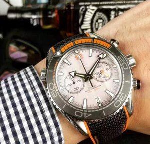 Baselworld 2017 New Listing Luxury Mens Watches Imported Swiss Chronograph Quartz Movement Classic Design Luxury Wristwatches