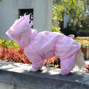 Perro Ropa de protección desechables para mascotas Traje de protección Ropa Perros Ropa de luz a reducir las bacterias para mascotas perro piel Accesorios Segura