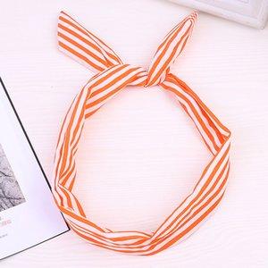 Retro Style Wire KANCOOCD Dot Tartan Headwear Boemia per il fronte fascia Camera da bagno Palestra femminile Turbante
