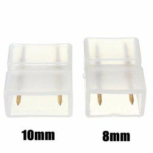 최저 가격 8mm / 10mm 2 핀 Weldless 커넥터 연결 솔더를 들어 / 3014 2,835분의 5,050 / 5730 주도 크리스마스 스트립 빛