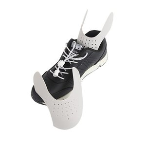 1 par lavável Toe Suporte Cap Shoe Escudo Sneaker Anti-Crease Fold Shoes Bending rachadura sapatos cabeça Shaper Expander DropShipping