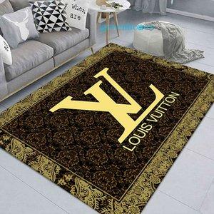Luxuosa Sala tapete de alta qualidade anti-derrapante esteira em casa Mobiliário de cristal de veludo Parlor Rug grande fornecedor Tapete