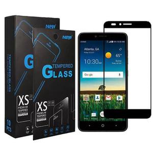 Hot telefono mobile di Full Cover Black Frame vetro temperato per LG Stylo 6 4 5 Stylo schermo K51 K30 K40 Inoltre Legacy Moto E6 bordo Glue Protector