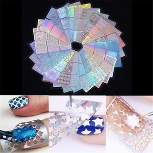24 листов ногтей печать пластины геометрические цветы мульти-шаблон ногтей шаблон 3D штамповка маникюр трафарет инструменты Ruse горячая продажа